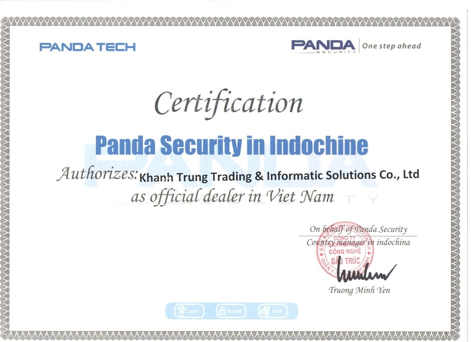 Đại lý/ nhà cung cấp sản phẩm Panda Security