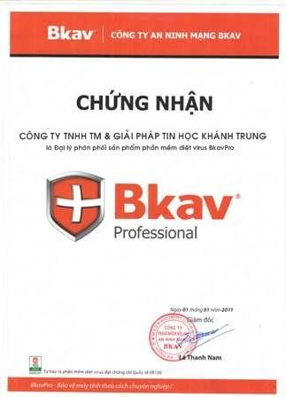Đại lý/nhà cung cấp sản phẩm Bkav