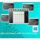 Able2Extract PDF To Excel SDK