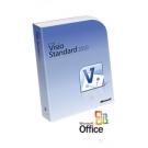 Visio Standard 2016 32-bit/x64 English Intl DVD