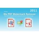 We PDF Watermark Remover -1PC