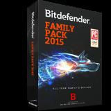 Bitdefender Family Pack 3PC 1 năm